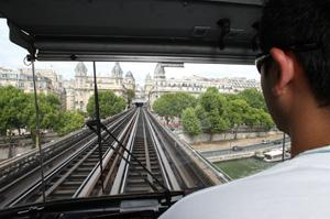 Conducteur de métro RATP à Paris